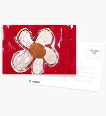 Hinweis Blume Postkarten