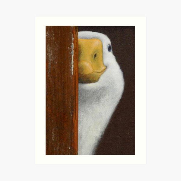 Peeping Kunstdruck