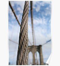 brooklyn bridge new york city Poster