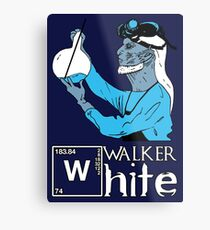 Walker White Metal Print