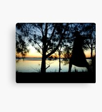The Night Walker Canvas Print