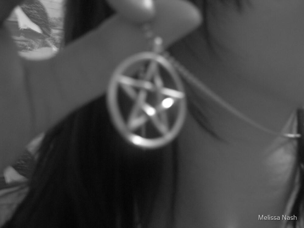 Pentagram Necklace 2 by Melissa Nash