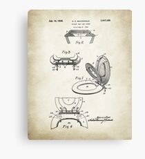 Toilet Seat Patent Poster Metal Print
