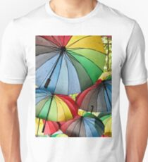 Colourful Umbrellas T-Shirt