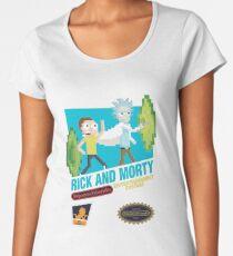 NES Parody 8bit Women's Premium T-Shirt