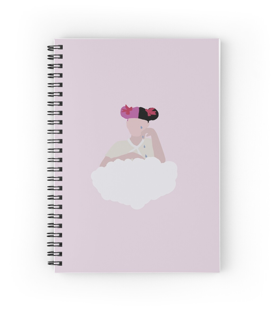 Quot Melanie Martinez Cry Baby Vector Quot Spiral Notebooks By
