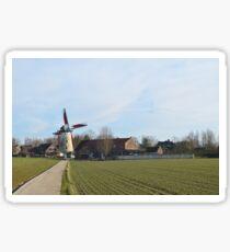 Schelderode Windmill and Miller's House Sticker