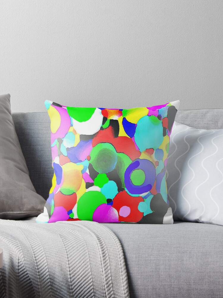 Hello, Harmony Abstract Color Orbs by Suzeology