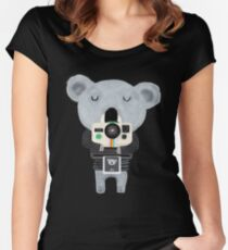 koala cam Women's Fitted Scoop T-Shirt