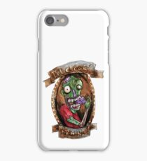 Delicious Brains! Zombie humour  iPhone Case/Skin