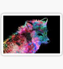Colorful Fox Sticker