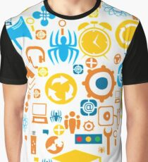 Vector Icons Heart Graphic T-Shirt