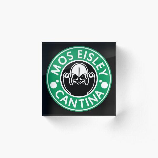 Mos Eisley Cantina Acrylic Block