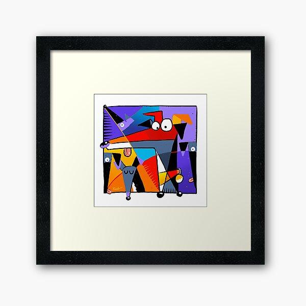 Derpism Framed Art Print