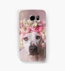 Flower Power, Jessica Samsung Galaxy Case/Skin