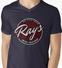 Blues Brothers - Rays Music Exchange Men's V-Neck T-Shirt
