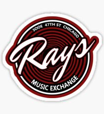 Blues Brothers - Rays Music Exchange Sticker