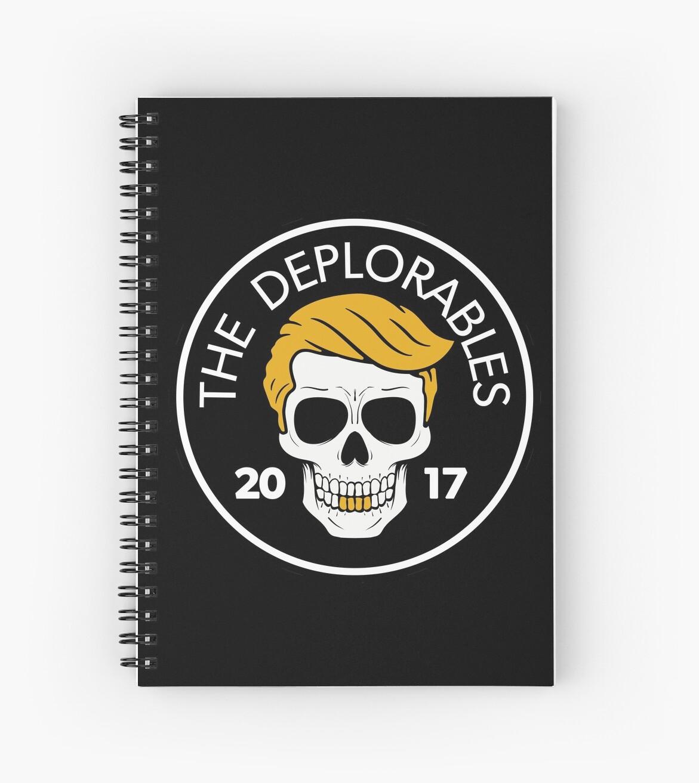 Trump 2017 DEPLORABLE  Hardworking American Patriot Sticker