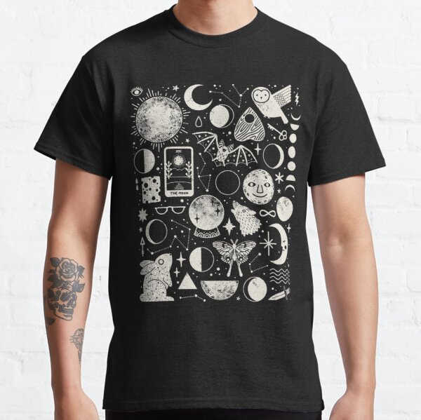 Lunar Pattern: Eclipse Classic T-Shirt