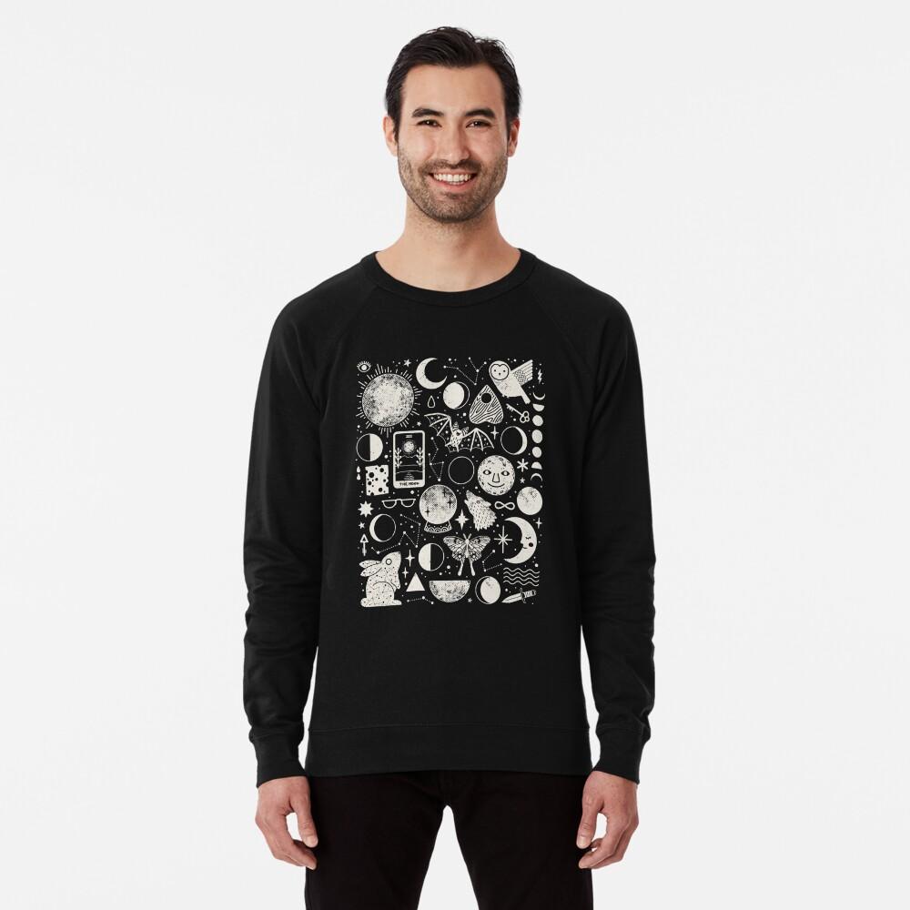 Lunar Pattern: Eclipse Lightweight Sweatshirt