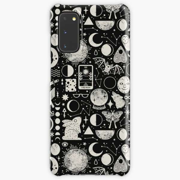 Lunar Pattern: Eclipse Samsung Galaxy Snap Case