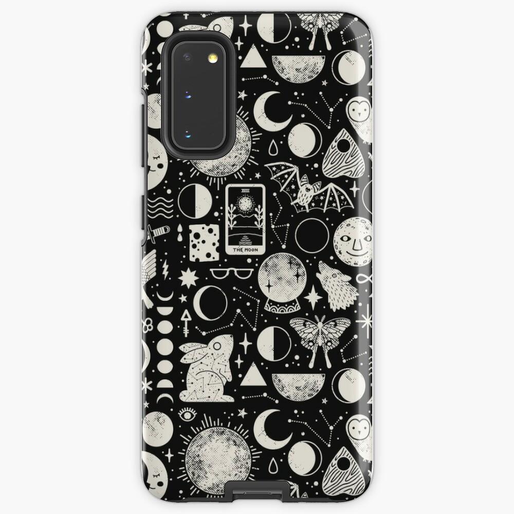 Lunar Pattern: Eclipse Case & Skin for Samsung Galaxy