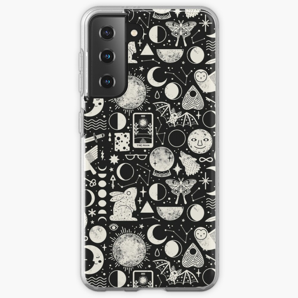 Lunar Pattern: Eclipse Case & Skin for Samsung Galaxy