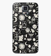 Mondmuster: Eclipse Hülle & Klebefolie für Samsung Galaxy