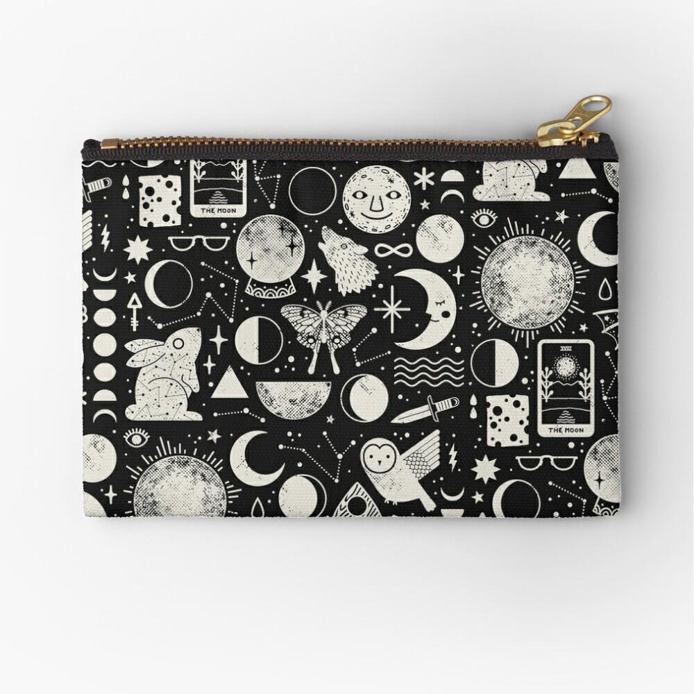 Lunar Pattern: Eclipse Zipper Pouch