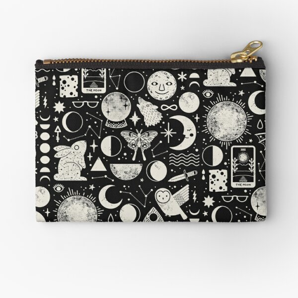 Lunar Pattern: Eclipse Zipper Pouch