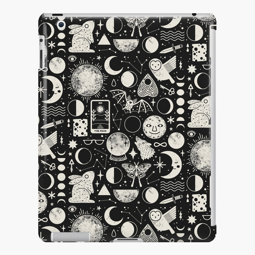 Lunar Pattern: Eclipse iPad Case & Skin