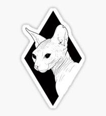 Sphynx  Sticker