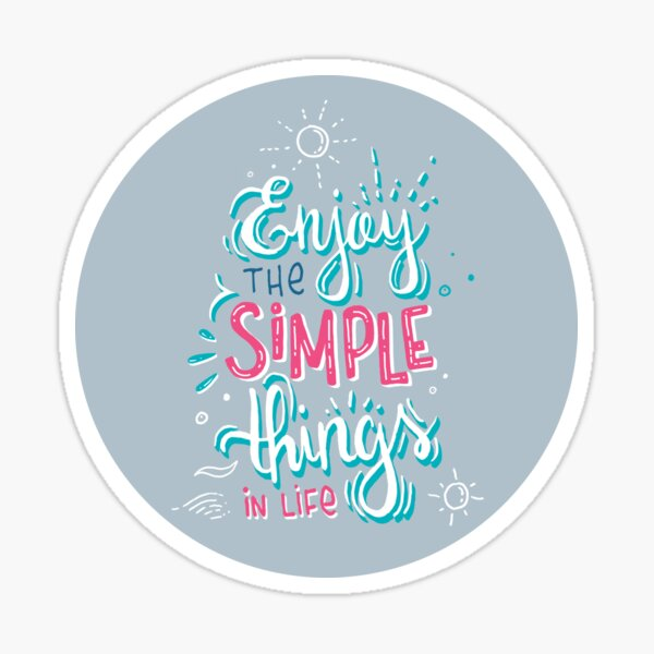 Fun motivational lettering Sticker