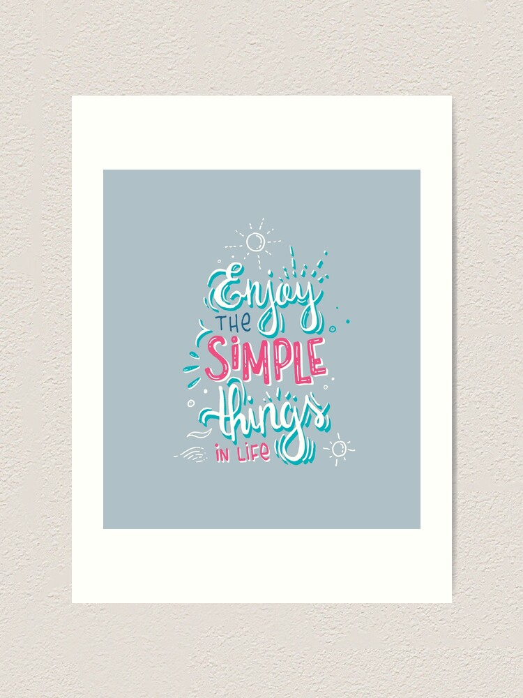 Alternate view of Fun motivational lettering Art Print