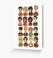 PJO + HOO Greeting Card