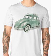Pastel Green Beetle Volkswagen | Cars Men's Premium T-Shirt
