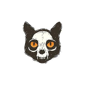 Cat head by Zhivova