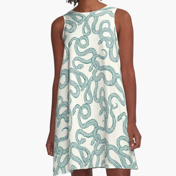 Snakes A-Line Dress