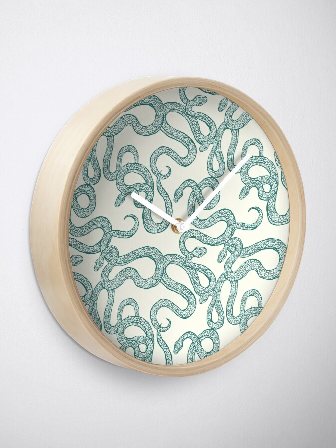 Alternate view of Snakes Clock