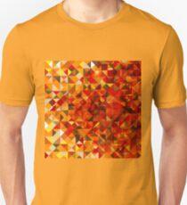 Polygonal bright origami style T-Shirt