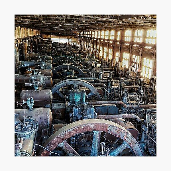 Abandoned - Bethlehem Steel Company by SparklePyre Photographic Print