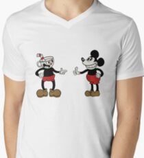 Cuphead and Mickey T-Shirt