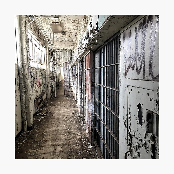Abandoned - Military Jail by SparklePyre Photographic Print