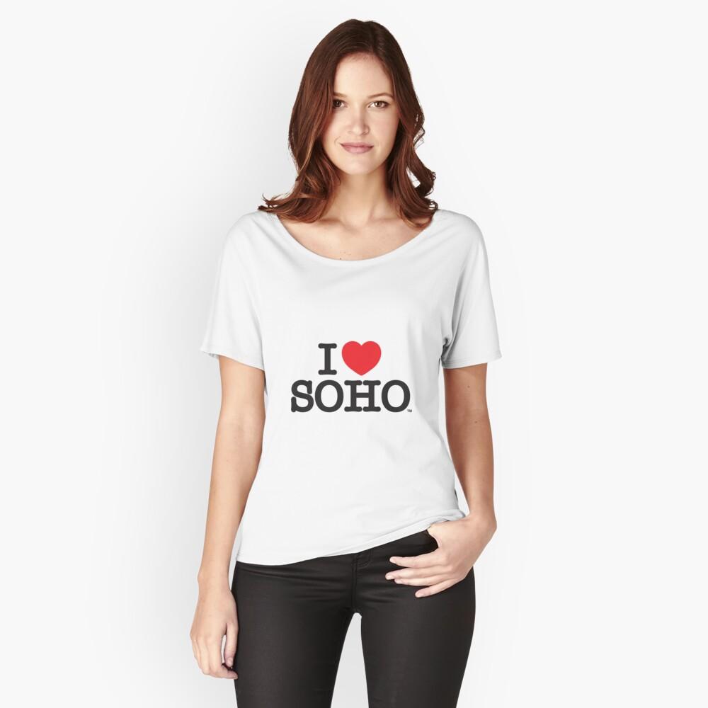 I Love Soho Official Merchandise @ilovesoholondon Relaxed Fit T-Shirt