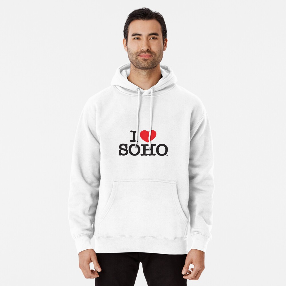I Love Soho Official Merchandise @ilovesoholondon Pullover Hoodie
