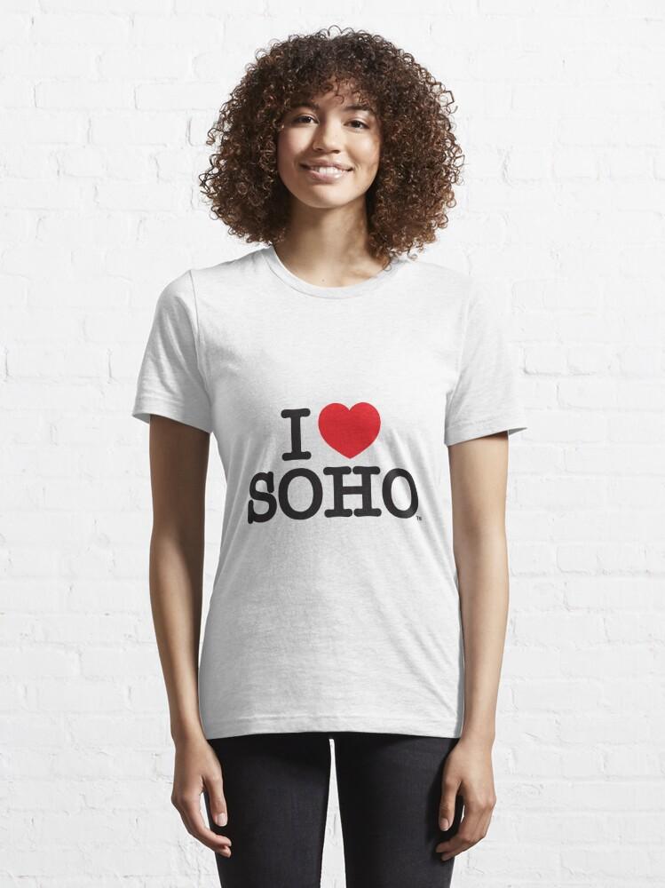 Alternate view of I Love Soho Official Merchandise @ilovesoholondon Essential T-Shirt