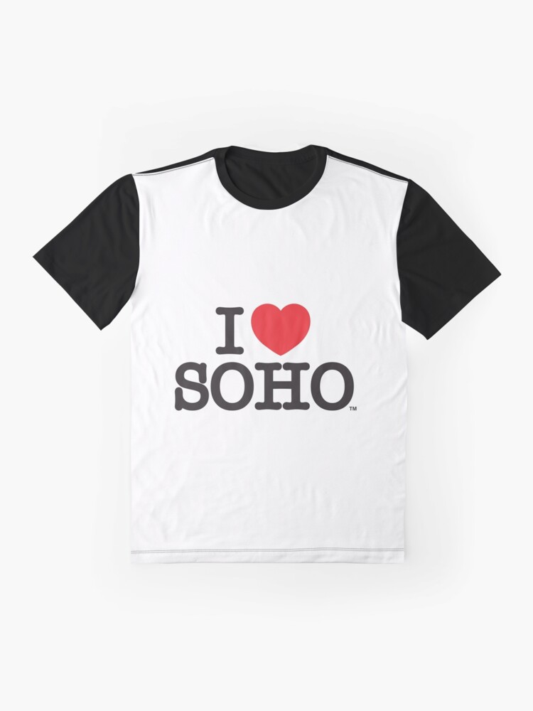 Alternate view of I Love Soho Official Merchandise @ilovesoholondon Graphic T-Shirt