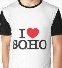 I Love Soho Official Merchandise @ilovesoholondon Graphic T-Shirt