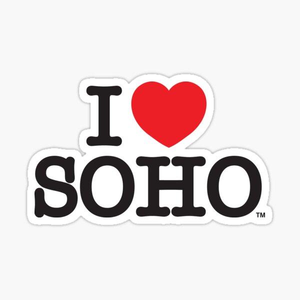 I Love Soho Official Merchandise @ilovesoholondon Sticker