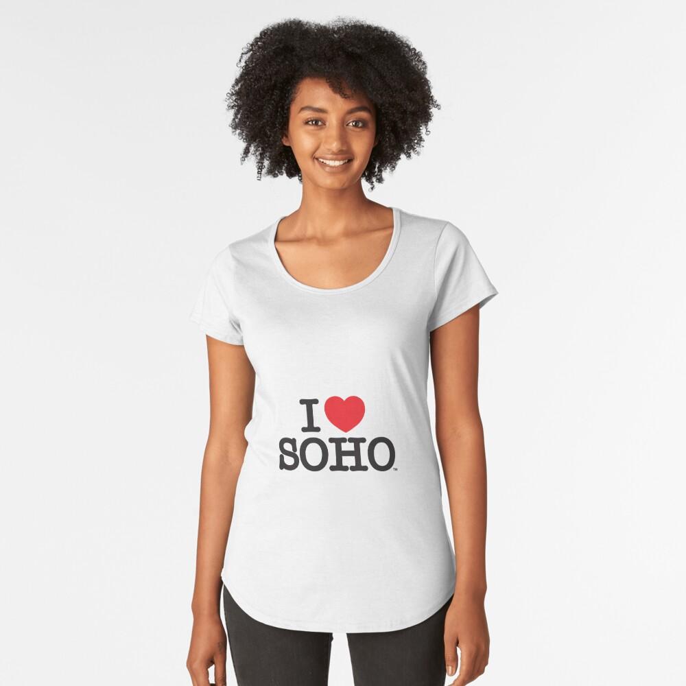 I Love Soho Official Merchandise @ilovesoholondon Women's Premium T-Shirt Front